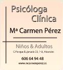 Psicóloga MªCarmen Pérez