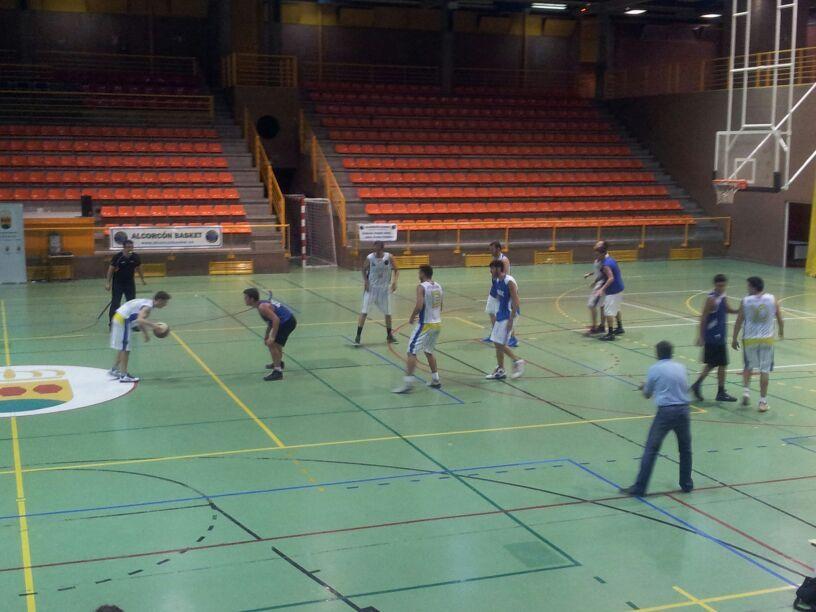 Ataque del Alcorcón Basket Nacional