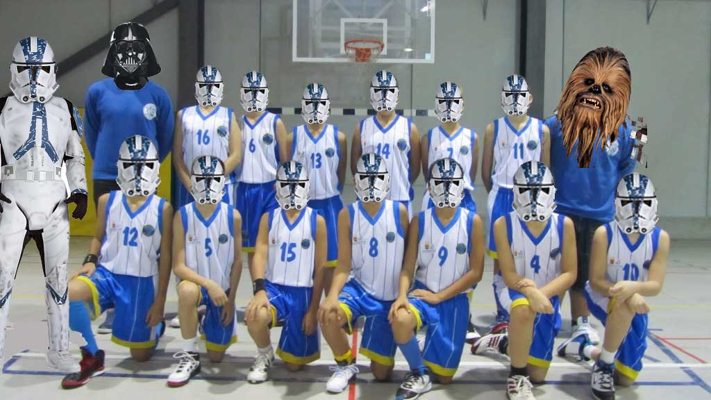 Alcorcon-Basket-Star-Wars