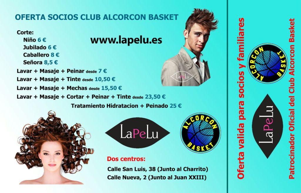 Lapelu-ofertas Alcorcón Basket