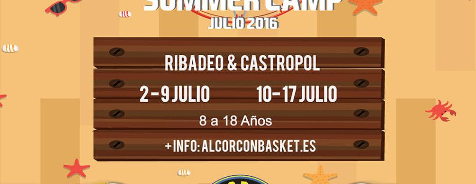 summer camp alcorcon basket 2016