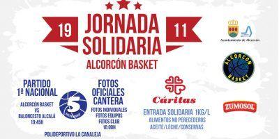 Jornada Solidaria Alcorcón Basket 2016