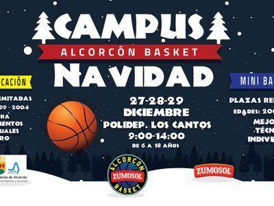 Campus Navidad Alcorcón Basket