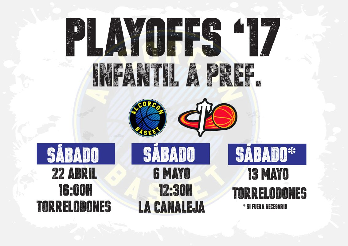 playoffs 2017 Infantil