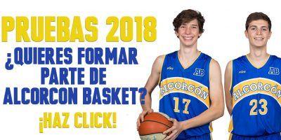 Pruebas Alcorcon Basket 2018