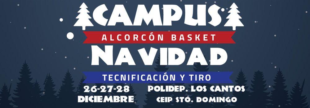 Campus Navidad Alcorcon Basket 2018