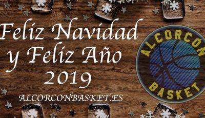 feliz navidad alcorcon basket 2019