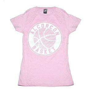 camiseta rosa niña ab