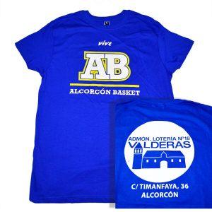 camiseta ab algodon patrocinador